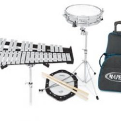 Backpack Snare Drum/Bell Percussion Kit